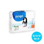 [6パックセット] Pingo プレミアムエコ紙おむつ(サイズ 3)