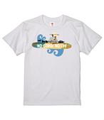 No.2019-3005 NO CORGI NO LIFE 5.6oz Tシャツ