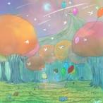 絵画 インテリア アートパネル 雑貨 壁掛け 置物 おしゃれ イラスト ロココロ 画家 : 志摩飛龍 作品 : 14