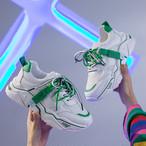 【shoes】合わせやすい配色ファッションスニーカー22741291
