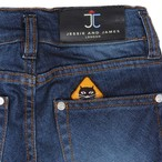 Classic 5 Pocket trouser indigo Denim  =JESSIE AND JAMES=