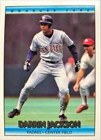 MLBカード 92DONRUSS Darrin Jackson #292 PADRES