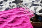 キングサイズビーチタオル【PINK/ピンク】