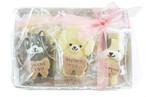 【焼き菓子ギフト】わんちゃんクッキーギフトセット(10枚入)/人気の可愛い卵不使用のわんちゃん型クッキーの詰め合わせとなります。ちょっとした贈り物にも最適です。