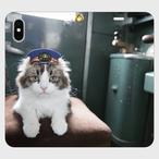 らぶ駅長の手帳型iphoneスマートフォンケース/アンドロイドケース【送料無料】