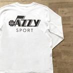"""【残りわずか】JS """"Utah Jazz"""" ロングスリーブ Tシャツ/ホワイト"""