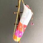 リサイクルサリー ヨガバッグ  C 【フェアトレード商品】 【アップサイクル商品】