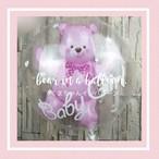 くまちゃんインバルーン【pink】誕生日 飾り付け かざりつけ イベント プレゼント パーティー