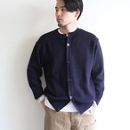 STILL BY HAND  【 mens 】10g kataaze crew neck cardigan