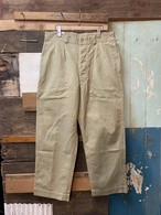 60's FRENCH ARMY CHINO TROUSERS