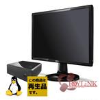 【再生品】RayLink / モニター21.5インチ / Linux / Ubuntu / SSD64GB / 4GB / Core i3