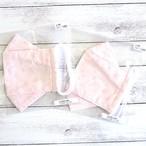 【卯の月屋】折り返し型立体布マスク(ピンク)・大人用サイズ/マスク