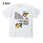 No.0047  スタンプコーギーTシャツ スリープ&WoW