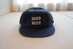 TACOMA FUJI RECORDS GOOD BEER HERRINGBONE CAP designed by Jerry UKAI