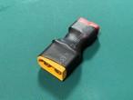 ◆XT60メスプラグ付きのバッテリーをT型プラグ用の充電器で充電するとき必要な変換プラグです。