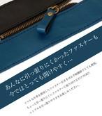 本革ファスナーの引き手 ネイビー/ブラック5個セット
