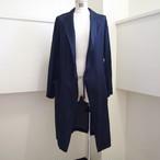 【hippiness】cupro coat (Jacquard14navy)/【ヒッピネス】キュプラ コート(ジャガード14ネービー)