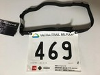 Race Number Belt with Energy Tube Loop