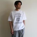 H.UNIT【 mens 】nice college print tee
