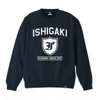 ISHIGAKI CITY CREW NECK SWEAT