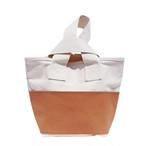 CLOUCHY SHOULDER BAG (キナリ×モカベージュ)
