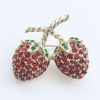strawberry brooch[b-204]