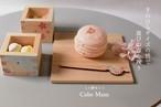 かんざしピック、桜と手毬のかわいいおちょこサイズのミニ枡セットでお家カフェ