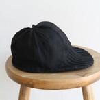 HICOSAKA【 mens 】wrap cap rib visor