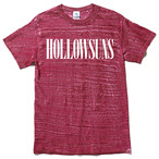 HOw LLOW Tee (Red Wash)