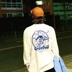 GOOBIE KUN L/S Shirt【Blue/Green】