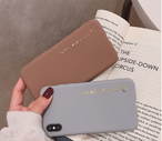 【オーダー商品】Case simple letter iphone case