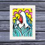 アートプリント A4(Jump Shark)
