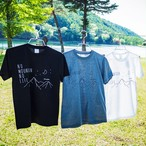 yatsugatake Tシャツ 〈ブラック〉
