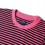 Black Stripe Knit Top(Pink/Black)