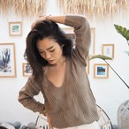 【予約販売】Twist Knit《BEIGE》