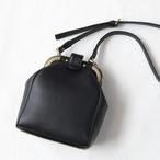 【受注生産】レトロなミニサイズのドクターズバッグ Black  (納期約3週間)