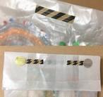 しましまとみずたま紙袋 & ワイヤータイSET