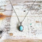 Larimar petit oval Necklace