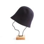mature ha./free hat back stitch navy