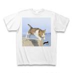 飛び猫Tシャツ1【送料無料】