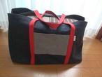 L サイズ 岡山デニムのキャリーケースバッグ