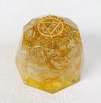 チャクラ調整オルゴナイト(第3チャクラ)