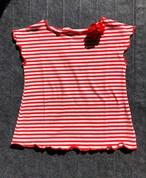 Malvi 赤ボーダーTシャツ