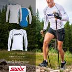 スウィックス swix レースX ボディウェア メンズ ベースレイヤー 【グレー・ホワイト】 インナー スキー スノーボード スノボ クロスカントリー 登山 キャンプ フィットネス ウェア