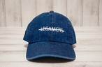 【simple logo cap】/ indigo
