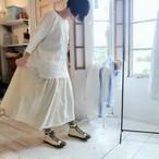 ミラー  左リボンすっきりスカート