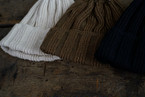 RoToTo / LINEN & COTTON KNIT CAP