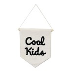 フラッグ (タペストリ) / Cool Kids Flag 21×28cm (クールキッズ) / WOOUF! BARCELONA (ウーフバルセロナ)