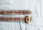 Indian embroidery belt