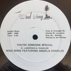 wind song featuring angela charles - love me baby/youre someone special